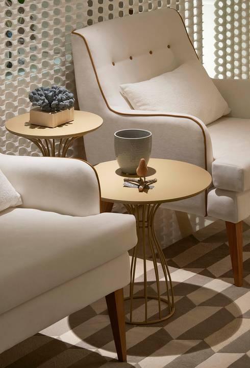 Decora Lider Vitória – Varanda Gourmet: Salas de estar modernas por Lider Interiores