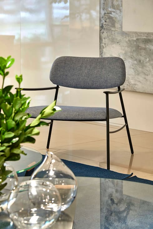 Decora Lider Vitória – Espaço Identidade: Salas de estar modernas por Lider Interiores