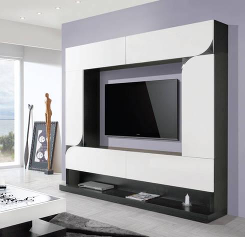 movel de sala: Sala de estar  por relax mobiliário e decoração
