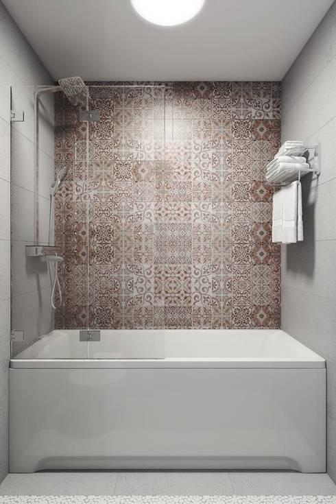 Phòng tắm by Дизайн студия Алёны Чекалиной