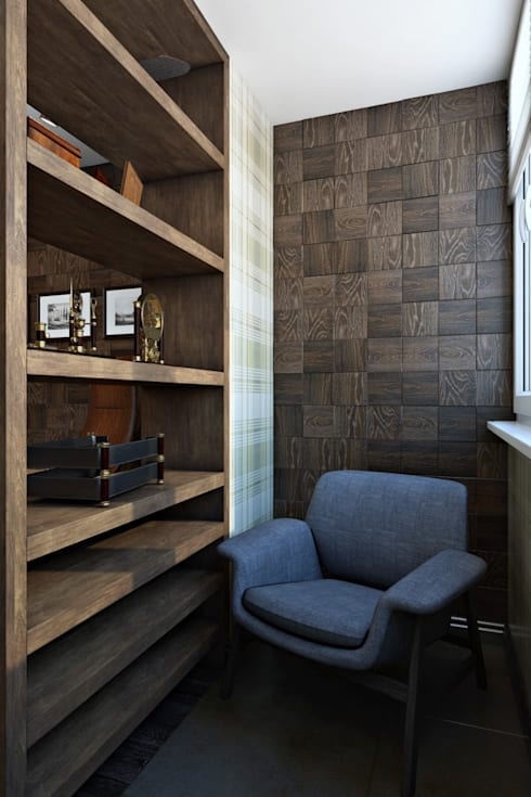modern Study/office by Дизайн студия Алёны Чекалиной