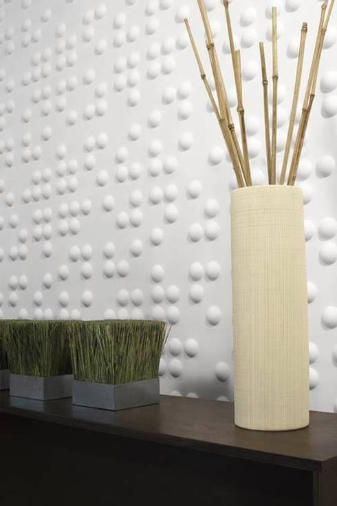 Texturas y Muros: Terrazas de estilo  por Arqpak