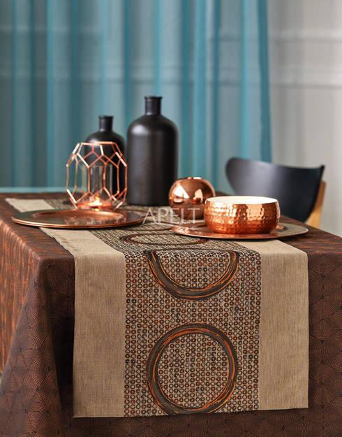 Moderne Tischwäsche loft style apelt stoffe homify