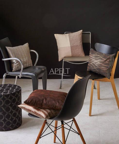 loft style von apelt stoffe homify. Black Bedroom Furniture Sets. Home Design Ideas