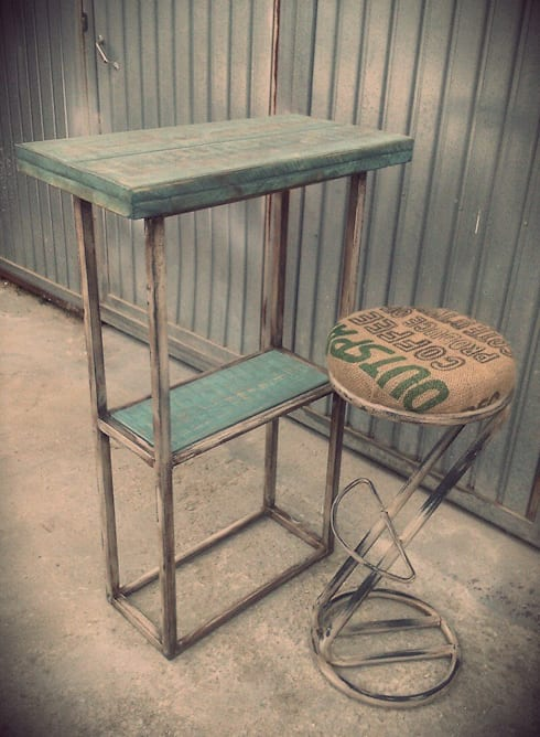 Mobiliario para cafeteria por desvan vintage homify - Mobiliario industrial vintage ...