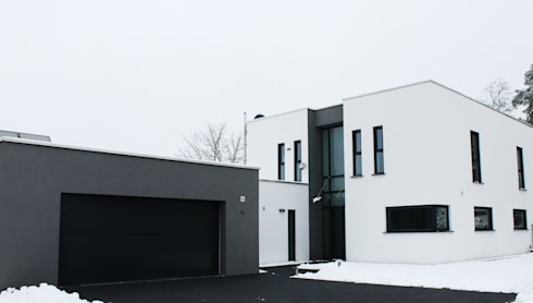 wohnhaus in campus nobel von architekturbüro steffen | homify, Hause deko