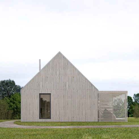 Casas de estilo escandinavo por INT2architecture