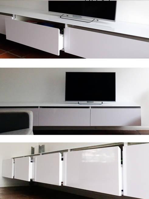Modulair tv meubel door nick ronde ontwerpen homify for Meubel canada