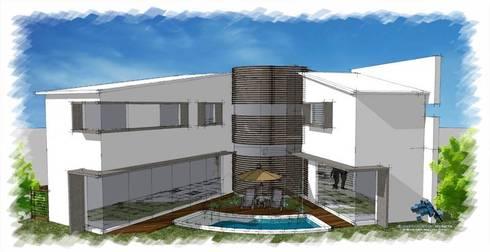 Amenidades:  de estilo  por villarreal arquitectos y urbanistas asociados sc
