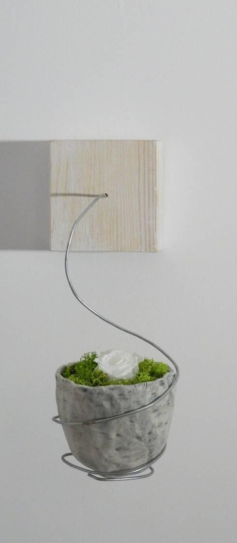 Vasi sospesi by ceramica artistica di chiara cantamessa for Vasi sospesi