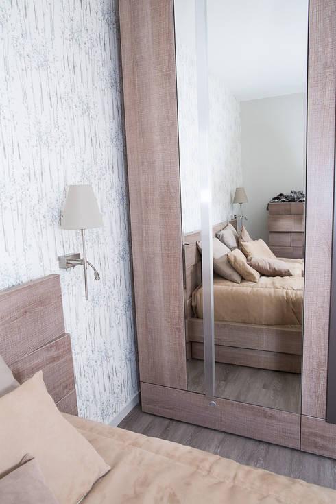 Chambre après - Appartement Courbevoie:  de style  par Nuance d'intérieur