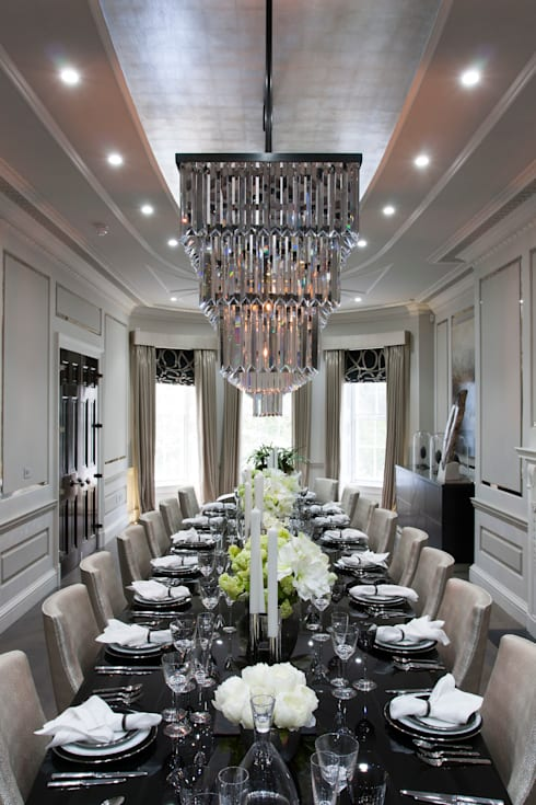 Queen annes gate london by amina homify for Q dining room london