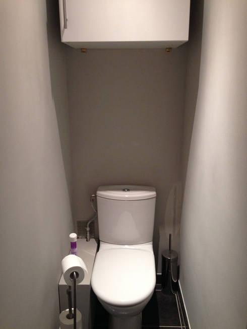 Appartement Marly-Le-Roi- Sanitaire avant:  de style  par Nuance d'intérieur