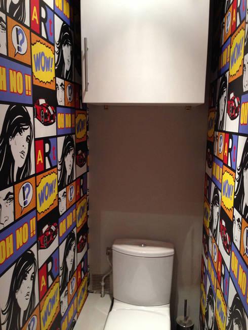 Appartement Marly-Le-Roi- Sanitaire après :  de style  par Nuance d'intérieur