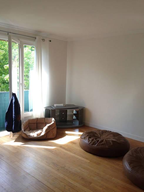 Appartement Marly-Le-Roi- Salon avant :  de style  par Nuance d'intérieur
