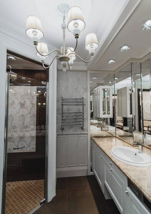 апартаменты в Ялте: Ванные комнаты в . Автор – Дорогой Дом