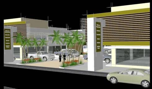 VISTA 01:  de estilo  por villarreal arquitectos y urbanistas asociados sc