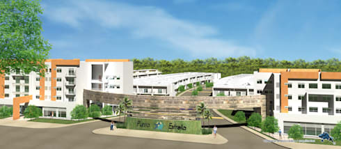 PUNTA ESTRELLA PLAYA DEL CARMEN:  de estilo  por villarreal arquitectos y urbanistas asociados sc