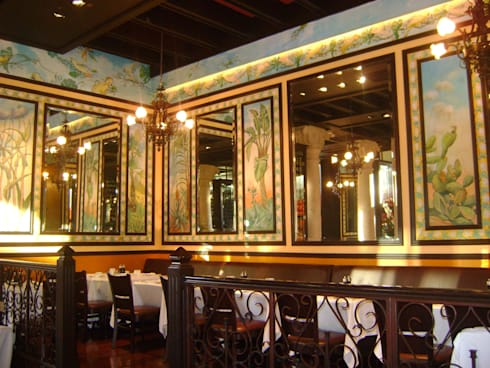 Lipp- Boue Arquitectos.: Restaurantes de estilo  por Boué Arquitectos
