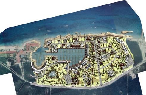 MARINA COZUMEL:  de estilo  por villarreal arquitectos y urbanistas asociados sc