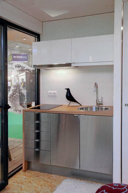 Copa / Cozinha: Cozinhas  por Plano Humano Arquitectos