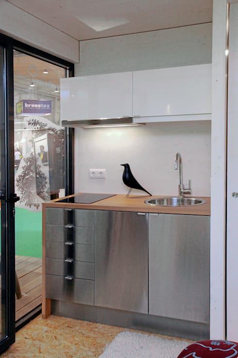 Cucina in stile in stile Minimalista di Plano Humano Arquitectos