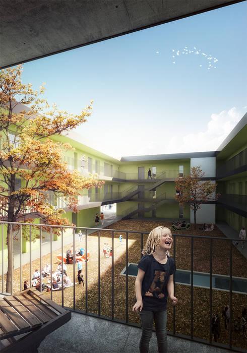 Housing Project in Steyr, Austria.:   por Rosario Badessa