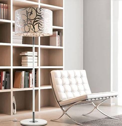 Projekty,  Salon zaprojektowane przez Intense mobiliário e interiores;