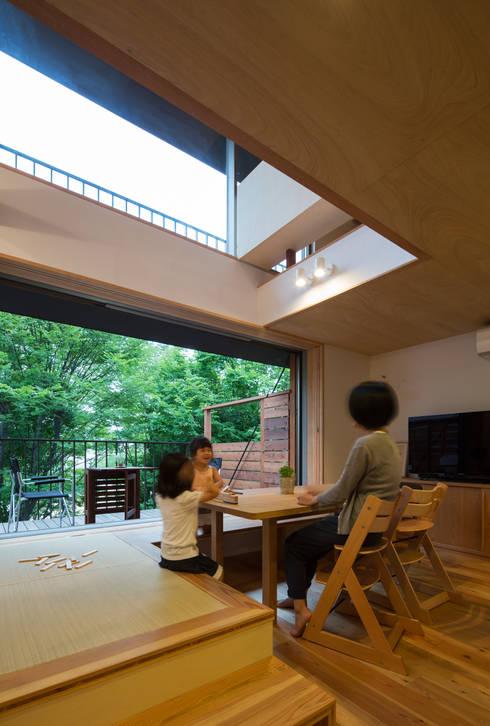 スバコ: 藤森大作建築設計事務所が手掛けたダイニングです。