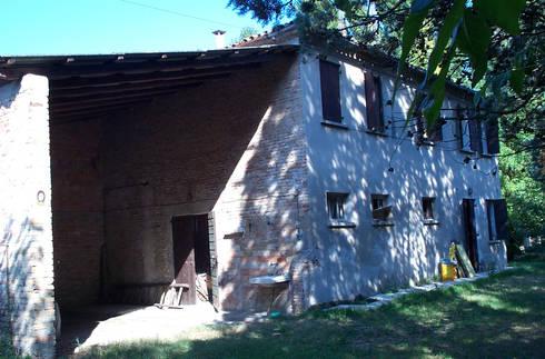 Restauro vecchio casale di zago studio architects homify for Case vecchio stile costruite nuove