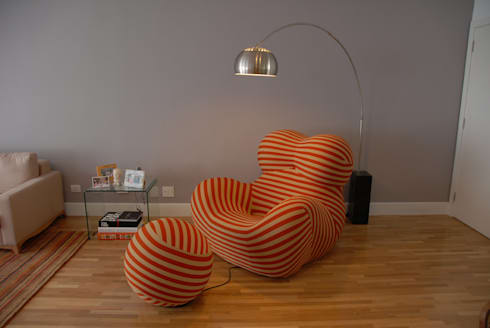 Donna Chair 1: Salas de estar minimalistas por MONICA SPADA DURANTE ARQUITETURA