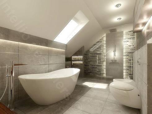 Łazienki Projekty Koncepcyjne By Intellio Designers Homify