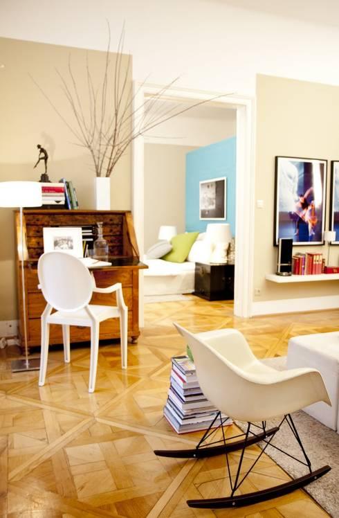 Apartment wien naschmarkt von christian hantschel interior for Interior design wien