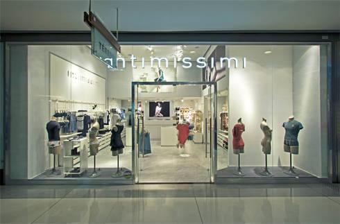 LOJA INTIMISSIMI: Lojas e imóveis comerciais  por AMAC CONSTRUTORA