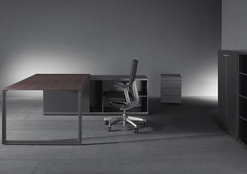 K-system: Oficinas y tiendas de estilo  por Riviera