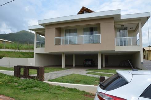 Uma casa de campo, para morar.: Casas campestres por Solange Figueiredo - ALLS Arquitetura e engenharia