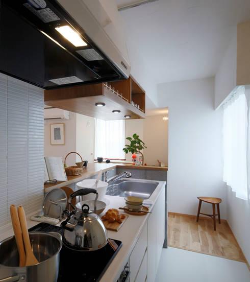 リアージュつくば春日 : 一級建築士事務所あとりえが手掛けたキッチンです。