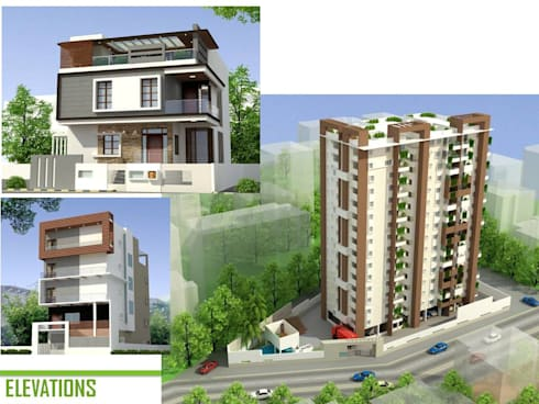 Apartment: minimalistic Houses by BAVA RACHANE