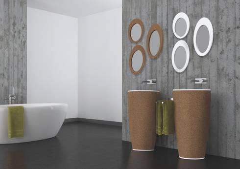 Ambiente 3D Lavatório NATUR: Casa de banho  por AMA Design
