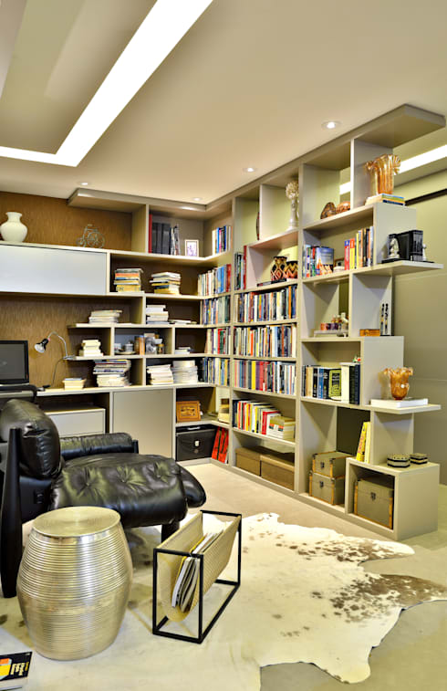 SALA: Salas multimídia modernas por Edílson Campelo Arquitetura