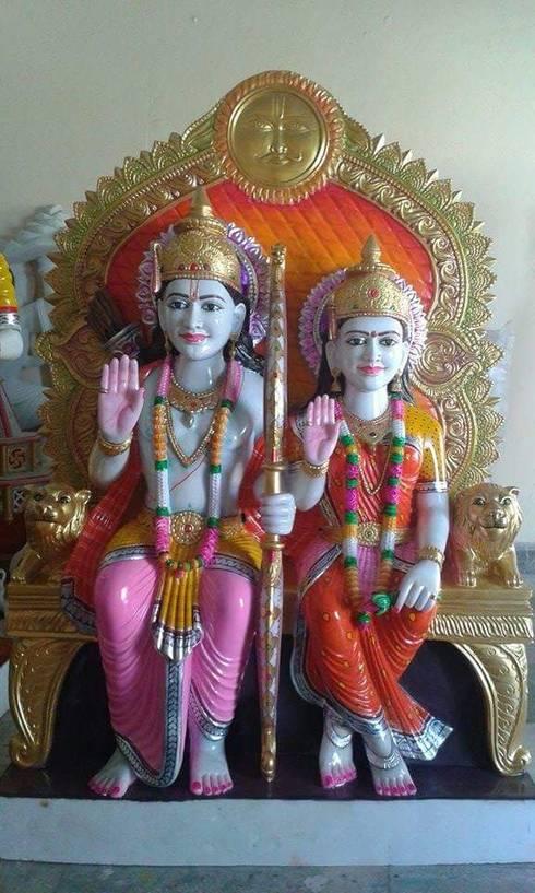 Shri Ram Sita:  Artwork by Vinod Murti Museum