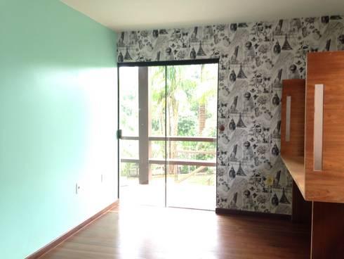 Residência Brasília - DF: Quartos  por ANALU ANDRADE - ARQUITETURA E DESIGN