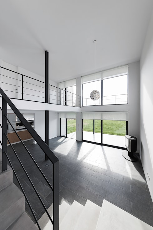 Soggiorno in stile in stile Moderno di AD+ arquitectura