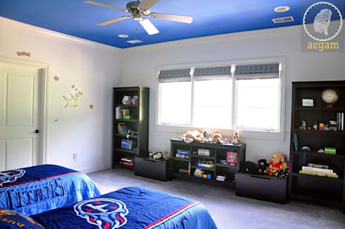 Nashville Country Home: country Nursery/kid's room by Aegam