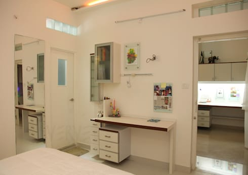 GIRL'S ROOM STUDY 2: minimalistic Study/office by VERVE GROUP