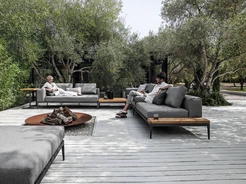 Outdoor lounges mit wasserfesten polstern von friedrich living