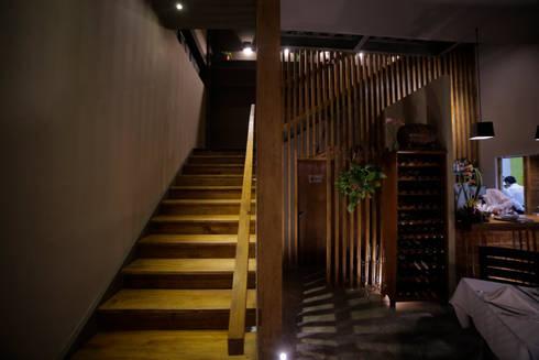 RISTORANTE LA MÍA FONTANA: Restaurantes de estilo  por Taller La Semilla