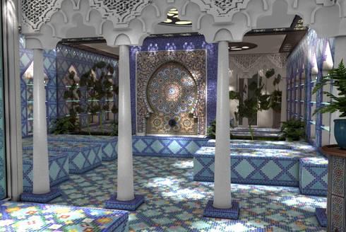 hammam l 39 argan quant l 39 orient s 39 invite dans l 39 oise 60 par deydier wilfrid architecture homify. Black Bedroom Furniture Sets. Home Design Ideas