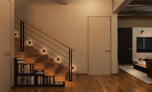 Фантазия: Коридоры, прихожие, лестницы в . Автор – he.d creative group