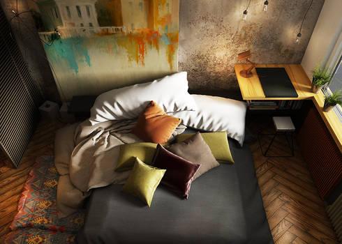 Фантазия: Спальни в . Автор – he.d creative group